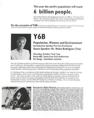 Population, Women, and Environment
