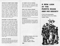 New Look at the Puerto Rican and his Society