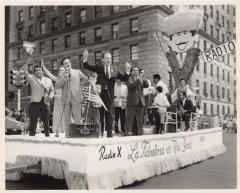 The Radio X La Fabulosa on New York float