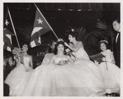 A Hispanic beauty pageant
