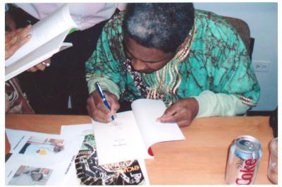 Tato Laviera book signing