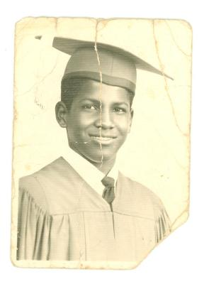 Tato Laviera graduation photo