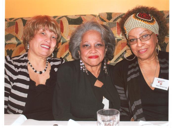 Maria Cruz, Ruth Sanchez and Marta Moreno Vega