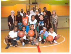 Hoops for Haiti participants