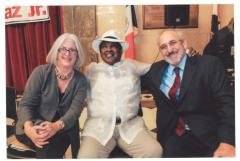 Nancy B. True, Tato Laviera and Eric Kingson