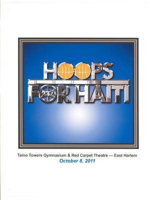 Hoops for Haiti poster