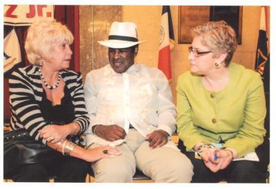 Maria Cruz, Tato Laviera and Sonia Laviera
