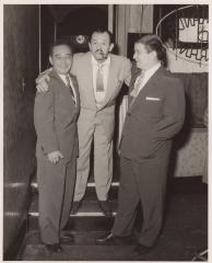 Sixto Escobar, Patsy and a comedian