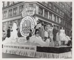 The International Ladies Garment Workers Union float