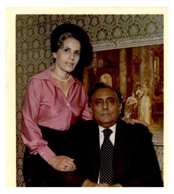 Evangelist Robert Fierro and his wife