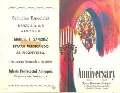 Iglesia Pentecostal Antiquoia Aniversario / Pentecostal Antioch Church Anniversary