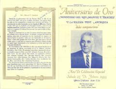 Aniversario de Oro / Golden Anniversary