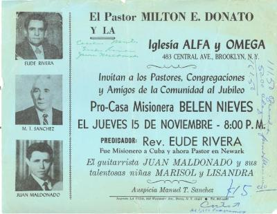 Pro-Casa Misionera Belen Nieves
