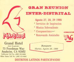 Gran Reunión Interdistrital / Great Interdistrial Meeting