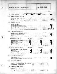 Summary-Monthly Activities Report Apr. 1957