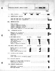 Summary-Monthly Activities Report Aug. 1957