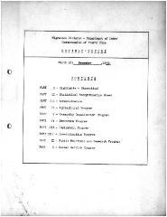 Summary-Monthly Activities Report Dec. 1959