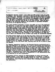 Summary-Monthly Activities Report Dec. 1960