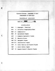Summary-Monthly Activities Report Aug. 1963