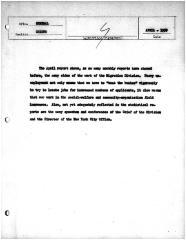 Summary-Monthly Activities Report Apr. 1959