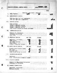 Summary-Monthly Activities Report Dec. 1958