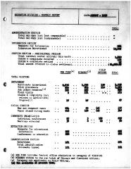 Summary-Monthly Activities Report Aug. 1959