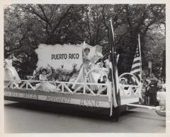 The Puerto Rican Merchants Association Float