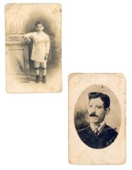 Portraits of Justo A. Martí's family