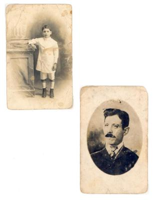 Portraits of Justo A. Martí's family