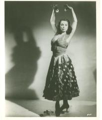 Vélez Mitchell in dancing costume