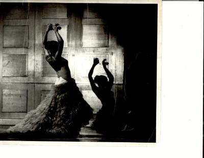 Vélez Mitchell Dances with her Shadow