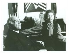 Maestro Carlos Chavez with Vélez Mitchell