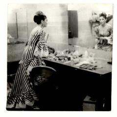 Anita Vélez Mitchell in her dressing room