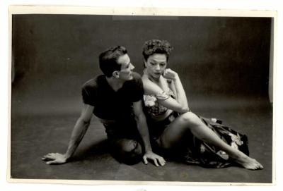 Vélez Mitchell with partner
