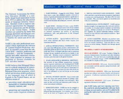 National Association for Bilingual Education (NABE)