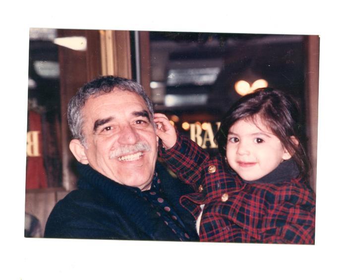 Gabriel García Márques and child
