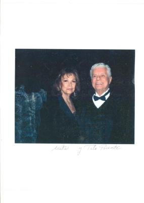 Vélez Mitchell with Tito Puente