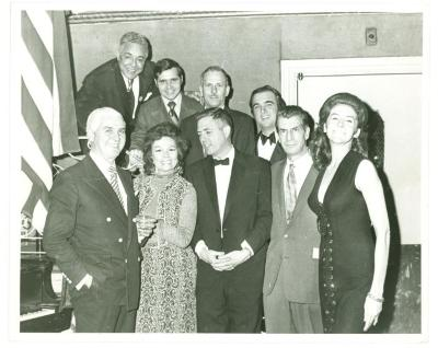 Vélez Mitchell with Senator Buckley