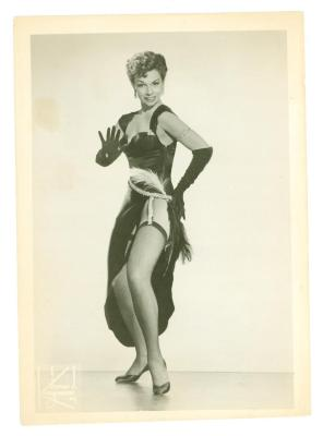 Anita Vélez Mitchell dances the mambo