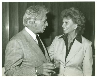 Leonard Bernstein and Vélez Mitchell