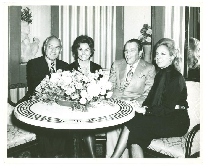 Vélez Mitchell with Ed Sullivan