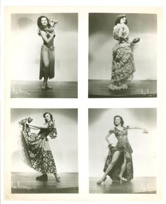 Anita Vélez Mitchell Four Dances