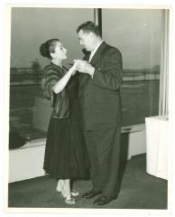 Vélez Mitchell with Jack Dempsey