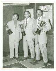 Tito Rodriguez, Vicentico Valdés, and Carlos Cruz