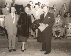 Tito Rodriguez (center) with musicians