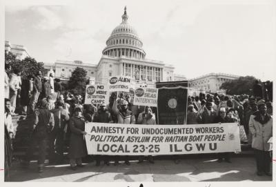 Amnesty for Undocumented Workers Protest in Washington D.C.