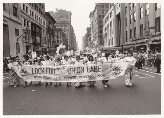 Look for the Union Label ILGWU