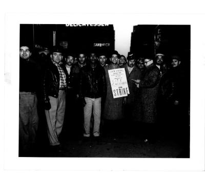 City Carriers on Strike