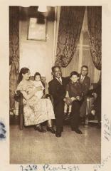 Joaquín Colón and his family