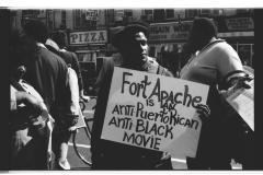 Protest Against Fort Apache, The Bronx